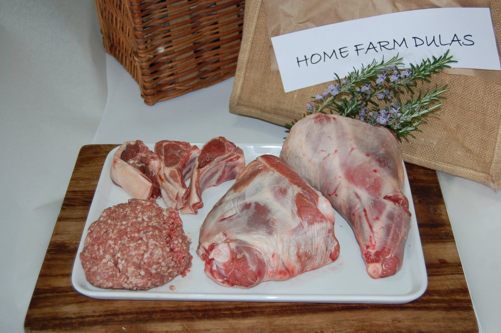 Home-grown lamb