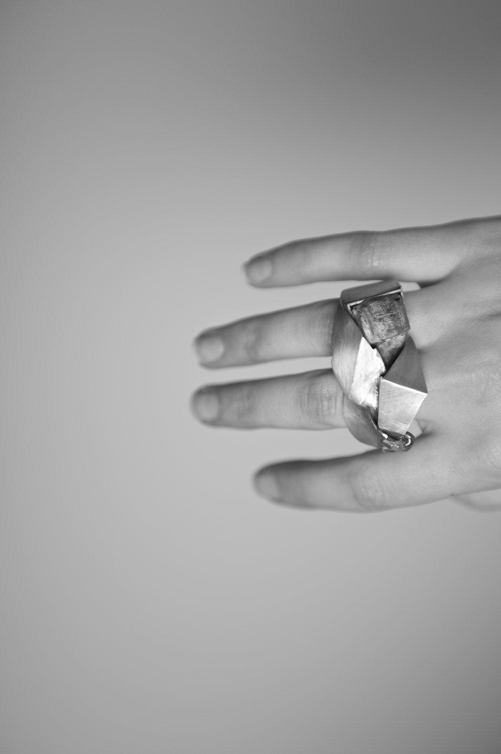 Cubism Ring