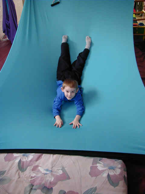 Lycra slide