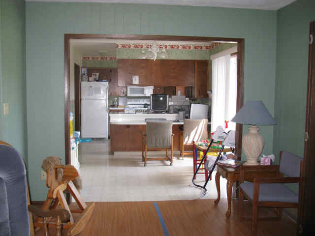 A kitchen to be used for your own meals or to work on ADLs with the kids.