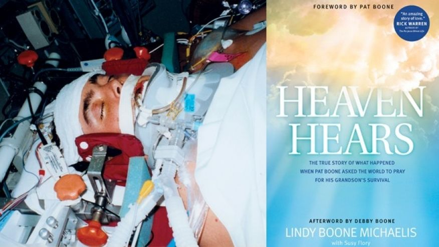 Heaven Hears   The True Story of What Happened When Pat Boone Asked the World to Pray for His Grandson's Survival   Get The Whole Story