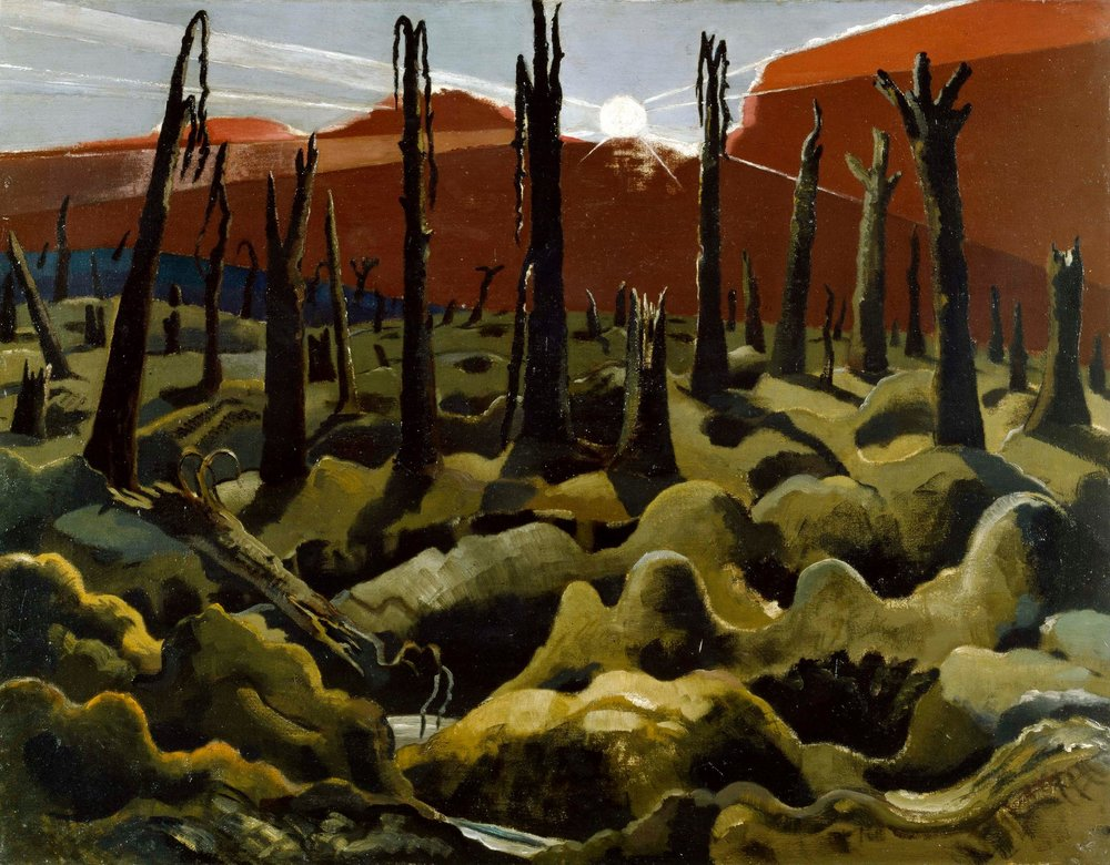 Paul Nash, We are Making a New World. 1918. © IWM (Art.IWM ART 1146) http://www.iwm.org.uk/collections/item/object/20070