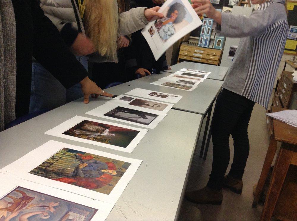 Art History enrichment classes at Graveney School