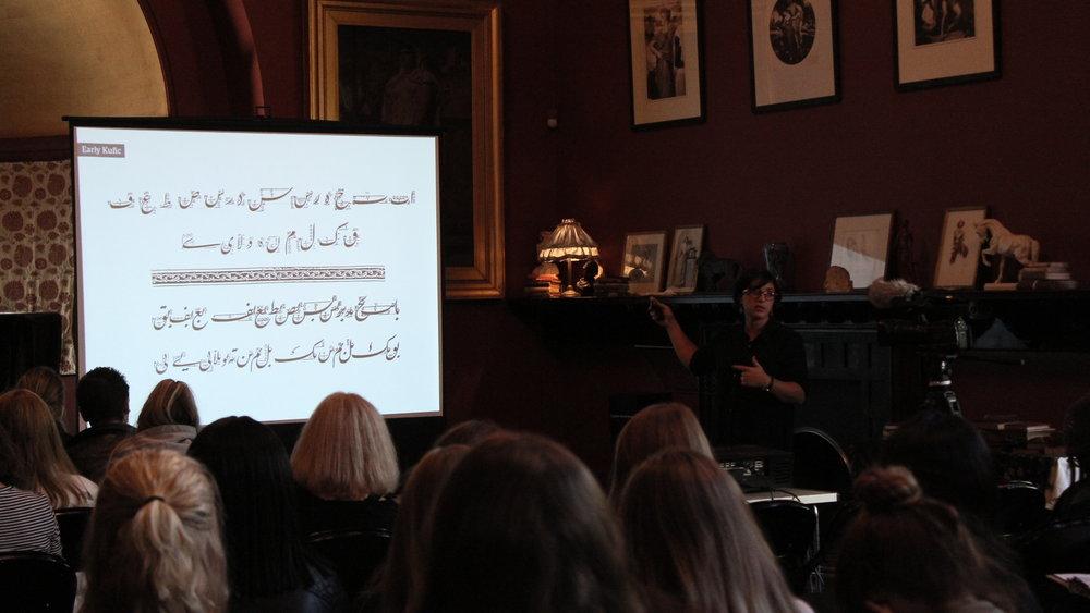 Azza Alameddine - Calligraphy Workshop