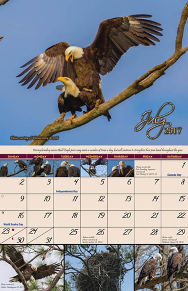 2017 Garden of Eagles Calendar