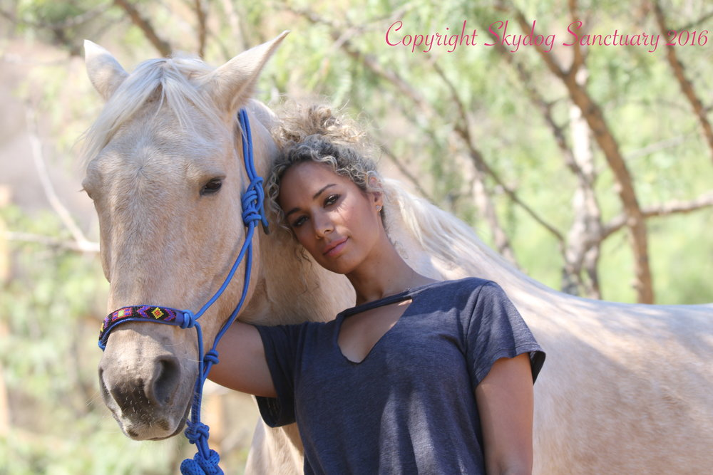 Leona Lewis with Buddy