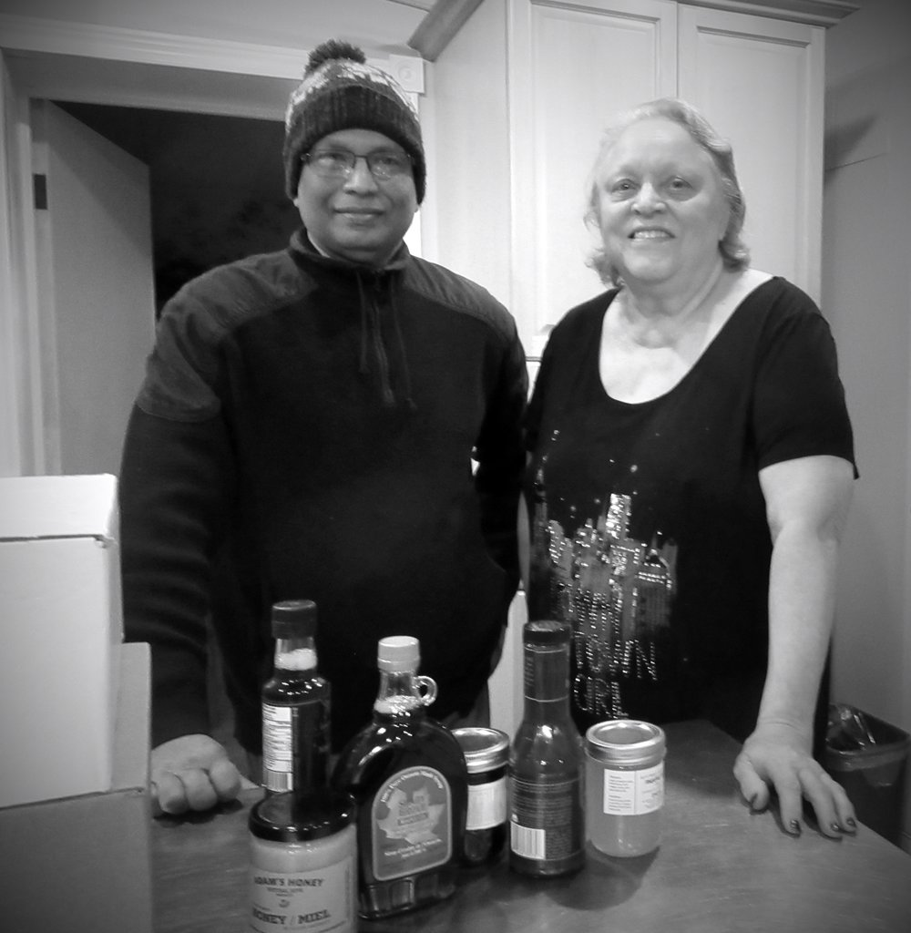 Barb Brown runs a special care centre and provides food and shelter to homeless people in her own house in Kirkfield ON. Tasty Food & Spices donates products to Browns home for special care