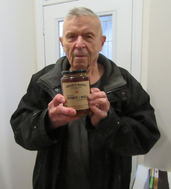 Norman has been buying honey from us since we started our business. He loves Adams honey and has been consuming lot of honey. Norman is 82+ of age and is healthy and fit. Drives himself to our place to buy honey.
