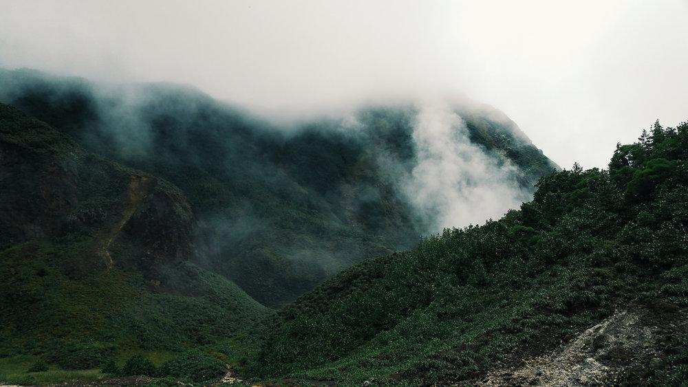 The amazing landscape of Dominica