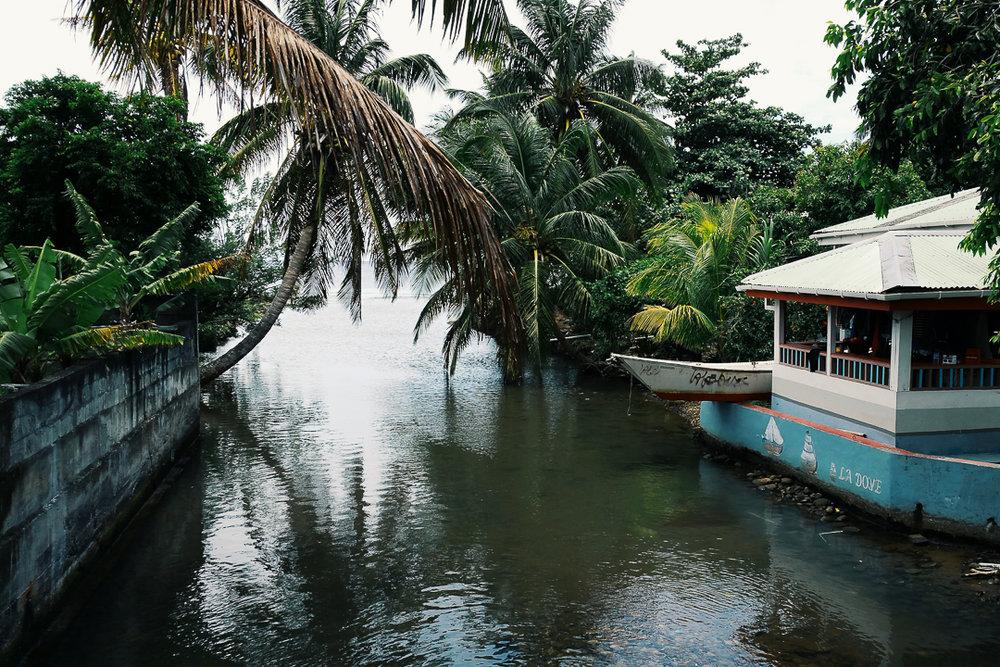 Taken in the city of Roseau, Dominica