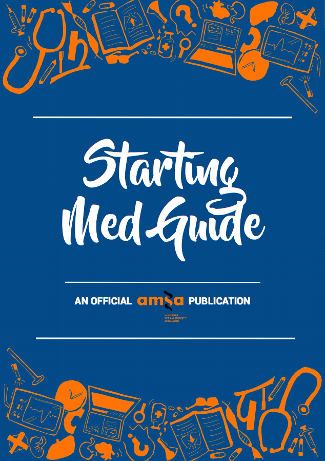 Check out the AMSA 'Starting Med Guide' - another great resource for incoming and first year medical students trying to adjust to life in med school! -