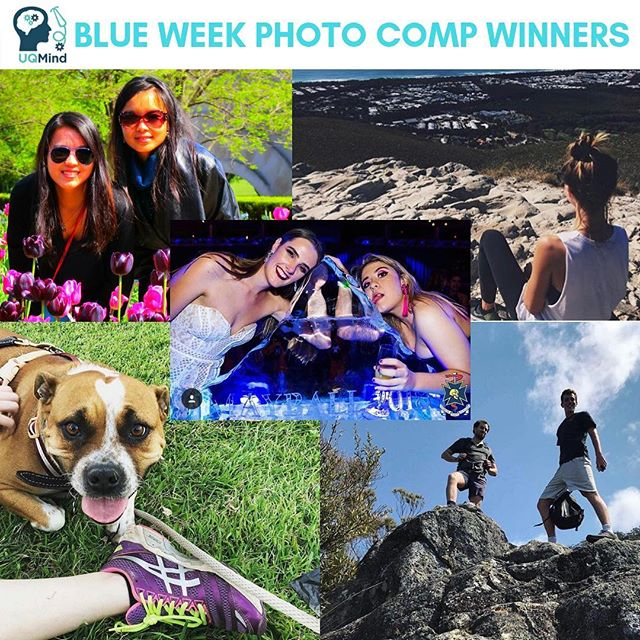 Thank you to all those who entered our Blue Week photo comps 💙 It was great to see everyone getting active and being there for their mates! Congrats to the winners! 🏆🎉 Another big thank you to all of our photo comp sponsors 💕@merlocoffee @vapianoaustralia @stepz_fitness_toowong @xtendbarrestlucia @studio_pilates #uqmindyourmovement #uqmindyourmates