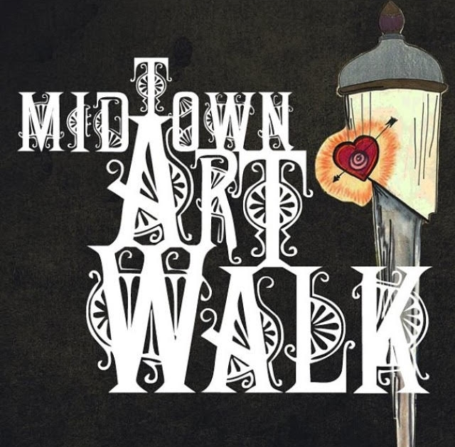 2013 Midtown Artwalk Logo and Poster