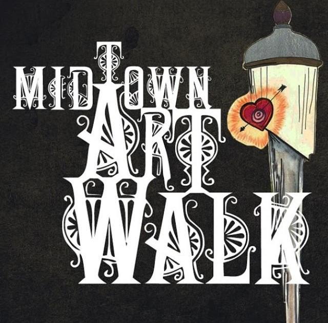 2013 Midtown Artwalk Logo and Poster