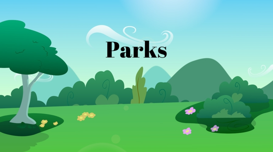 Parks are a great place to teach cooking, art, and exercise modules! When considering a park as a location for your module, be mindful of the weather and the needs of your clients.