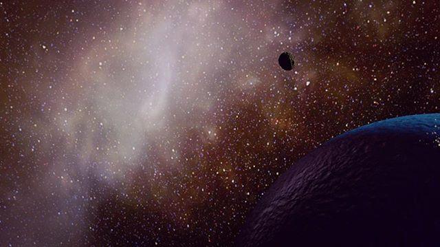 🌎☄️ _______________________ #cinema4d #digitaldesign #c4d #musicvideo #comet #3D #motion graphics #animation