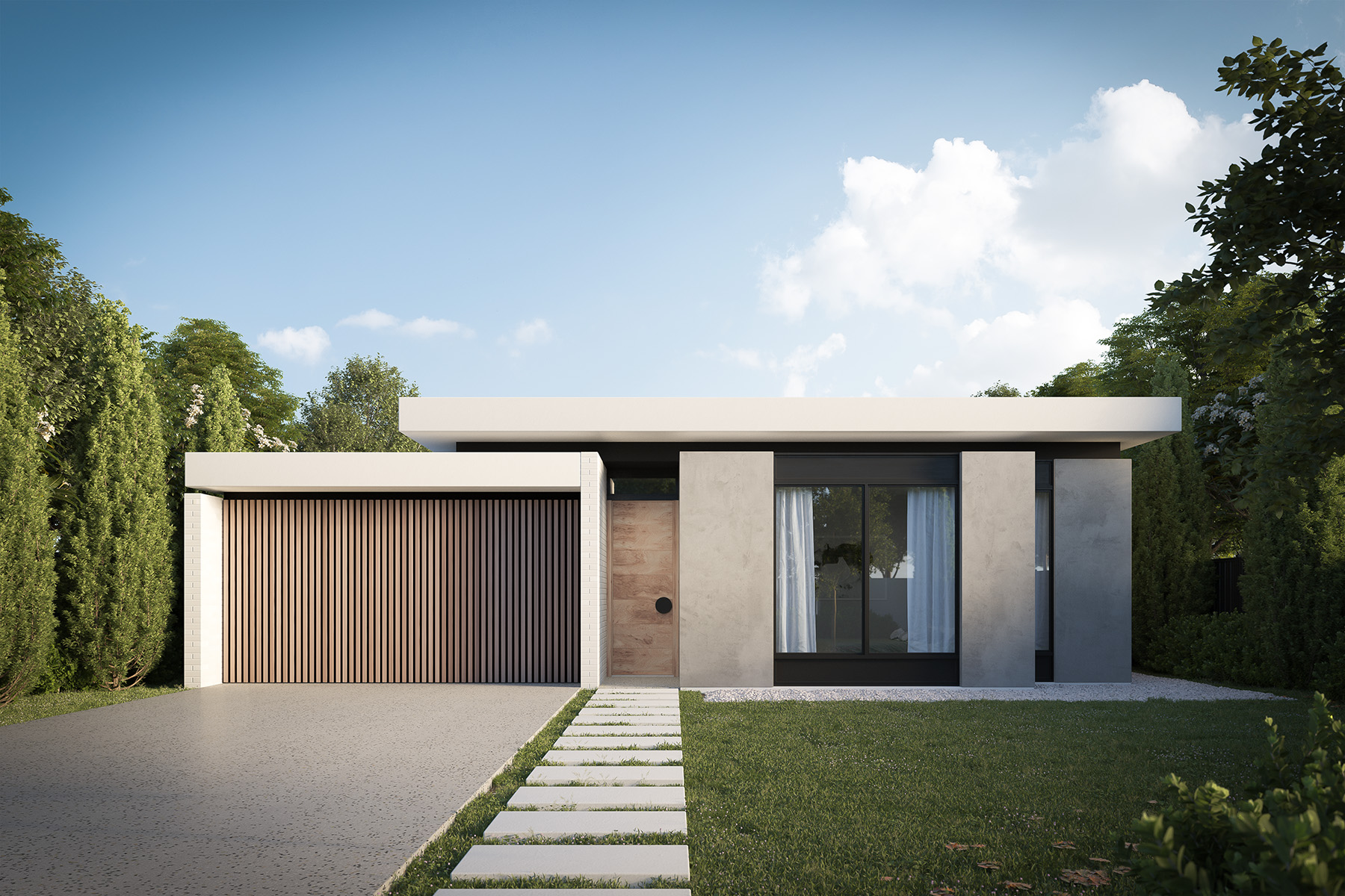 Rdvis 3d rendering architectural virtual tour for Single level home designs nsw