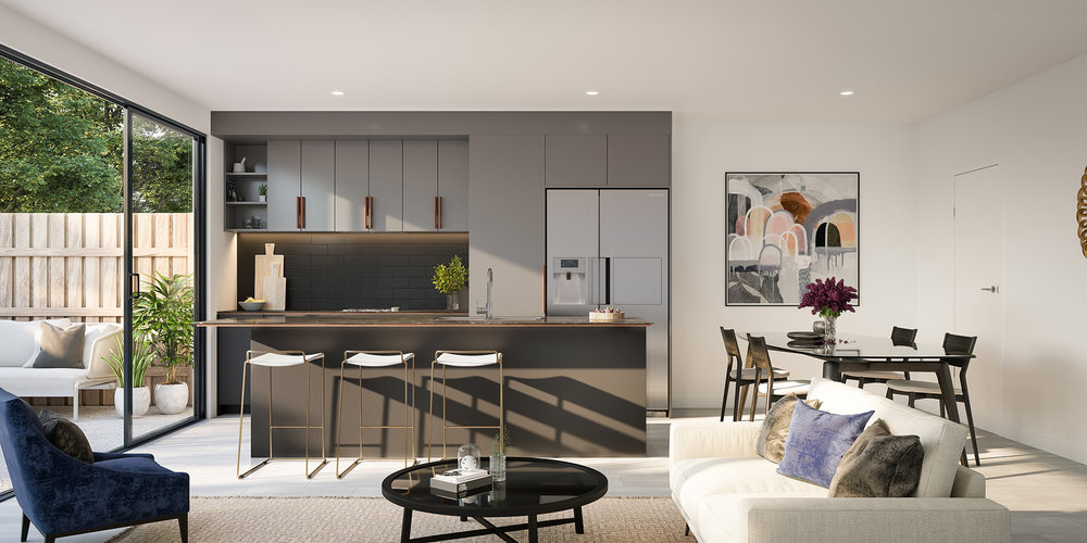 3D render Interior Archviz QLD real estate rdvis artist impression