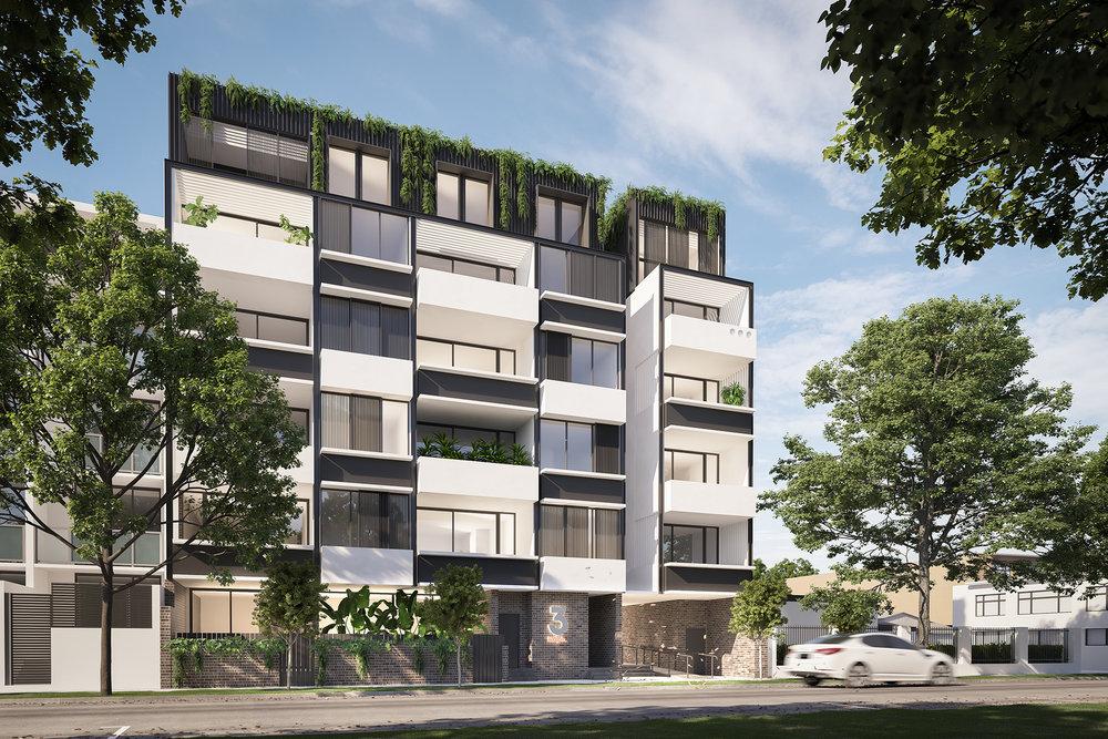 3D render Exterior Archviz NSW rdvis artist impression Vic Lake Architects