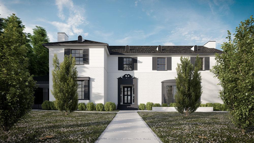 3D render Exterior Archviz LA Beverly Hills Los Angeles rdvis artist impression