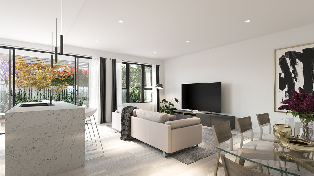 3D render Interior Archviz QLD real estate rdvis artist impression