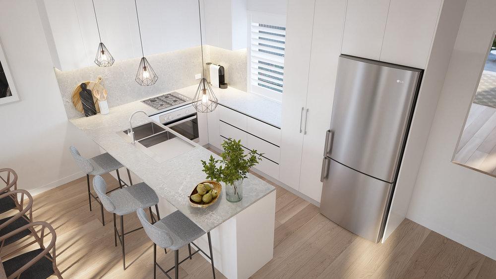 3D render Interior Archviz NSW real estate rdvis artist impression