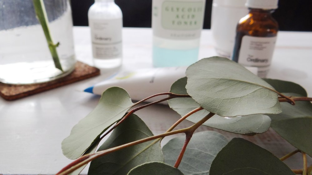 Previously Listed + Mario Badescu Glycolic Acid Toner & The Ordinary Hyaluronic Acid Serum