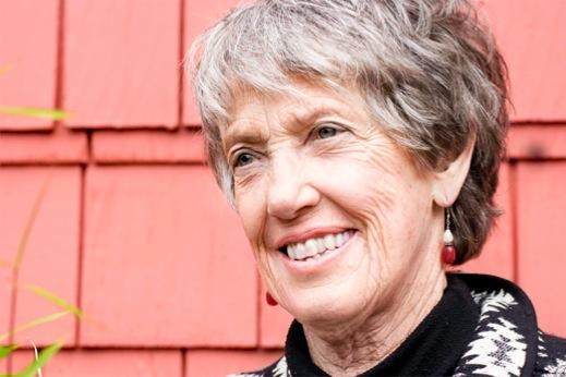 Buddhist scholar, deep ecologist, and author Joanna Macy.