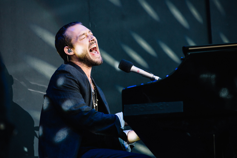 : Daniel Johns - Triple J's Beat the Drum concert The Domain Sydney