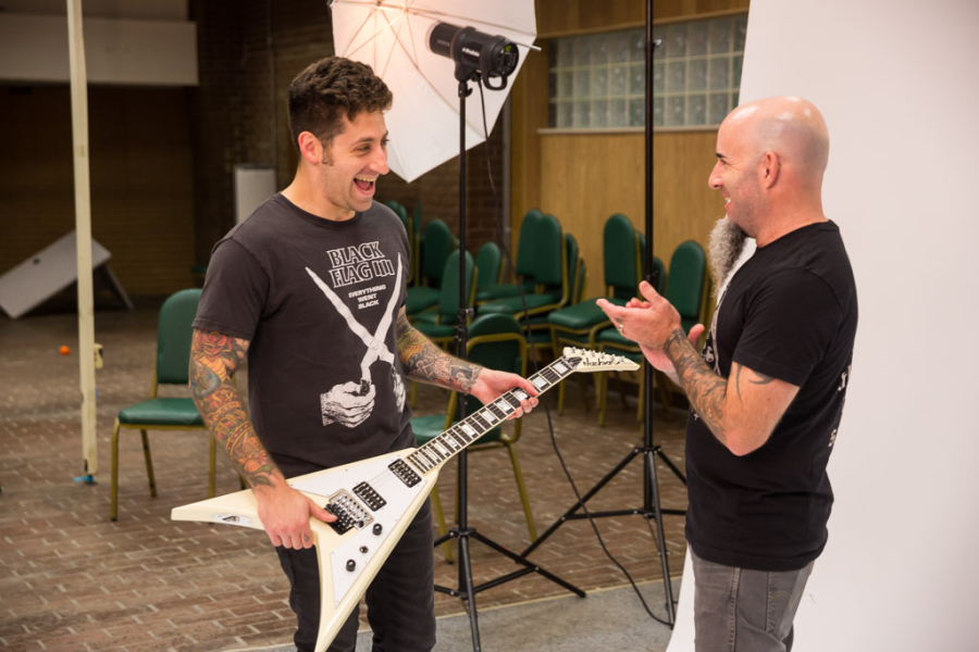 : Fall Out Boy - Joe Trohman and Scott Ian