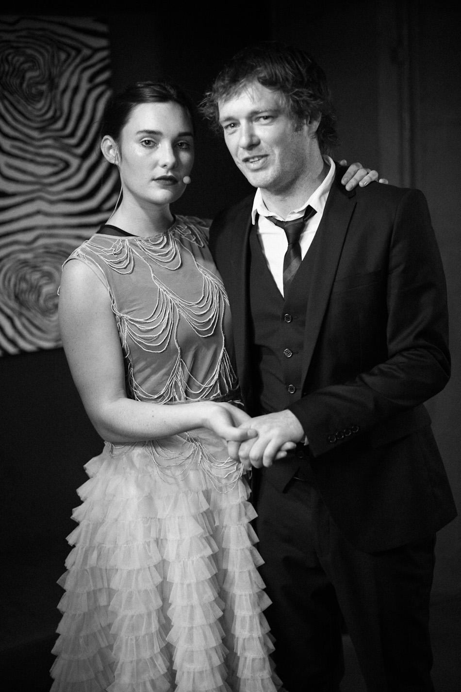 Lisa Mitchell and Johnny Mackay