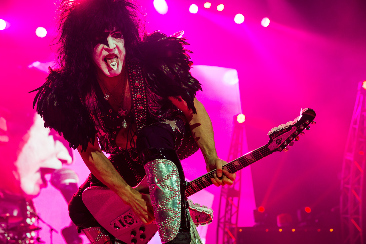 KISS perform live at Allphones Arena