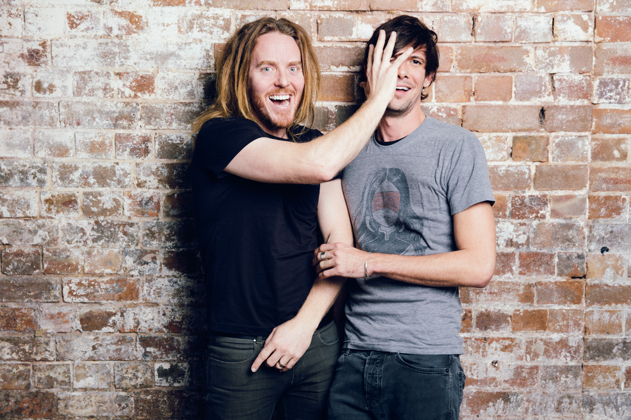 Tim Minchin and Toby Schmitz