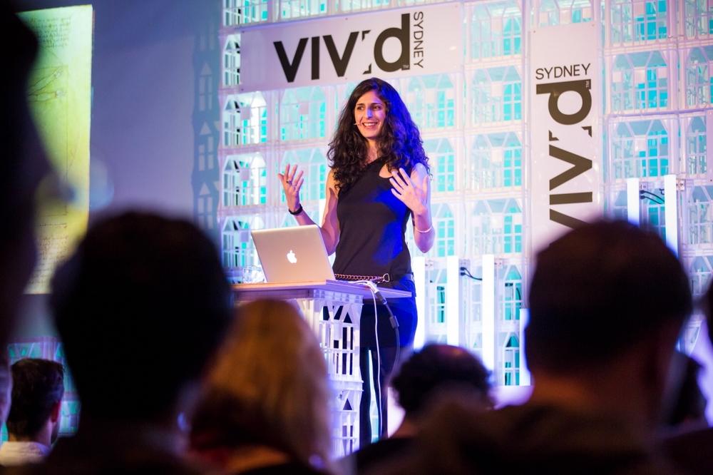Vivid Sydney 2014 : Nina Tandon - Vivid Ideas