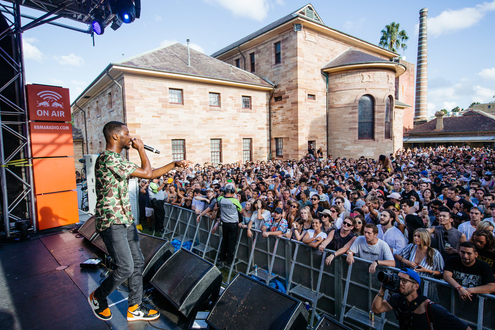 GoldLink - Laneway Festival Sydney 2016