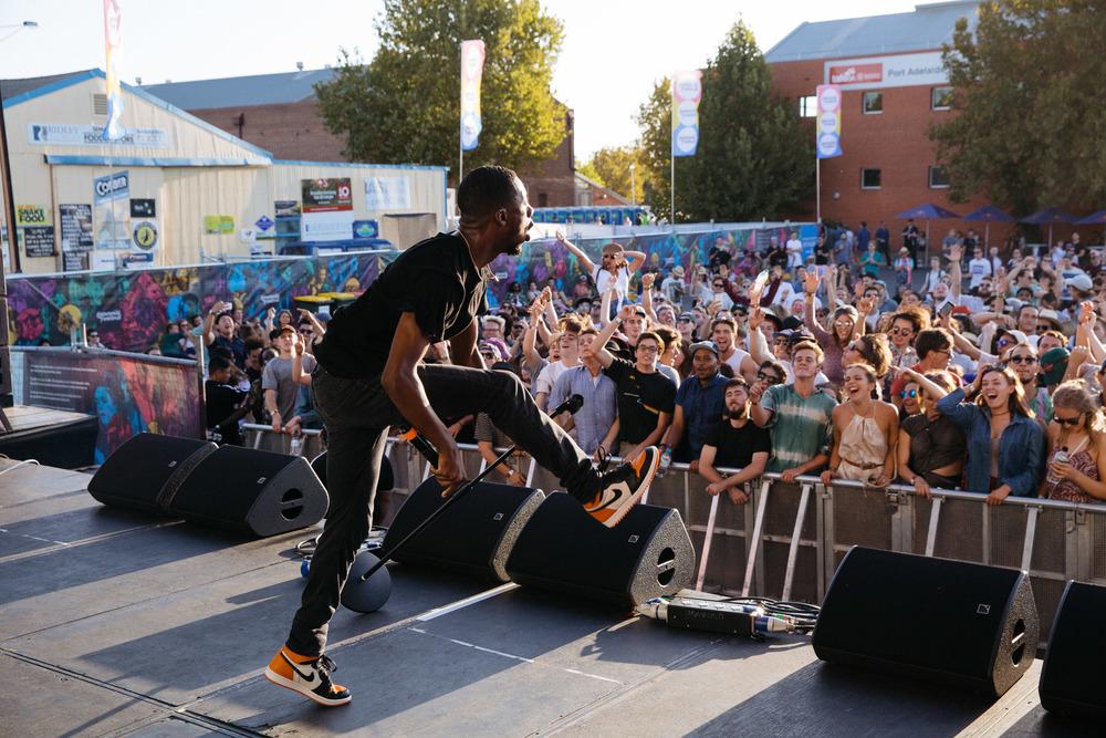 GoldLink - Adelaide Laneway Festival