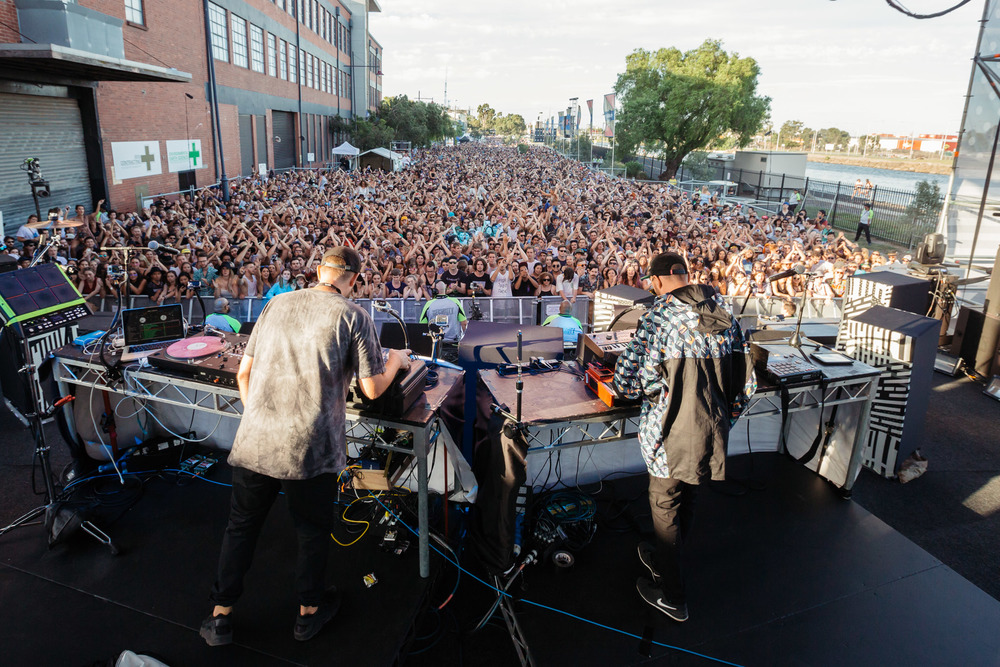 Hermitude - Melbourne Laneway Festival 2016