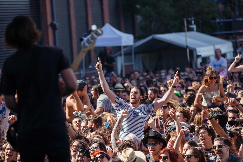 Smith Street Band - Melbourne Laneway Festival 2016