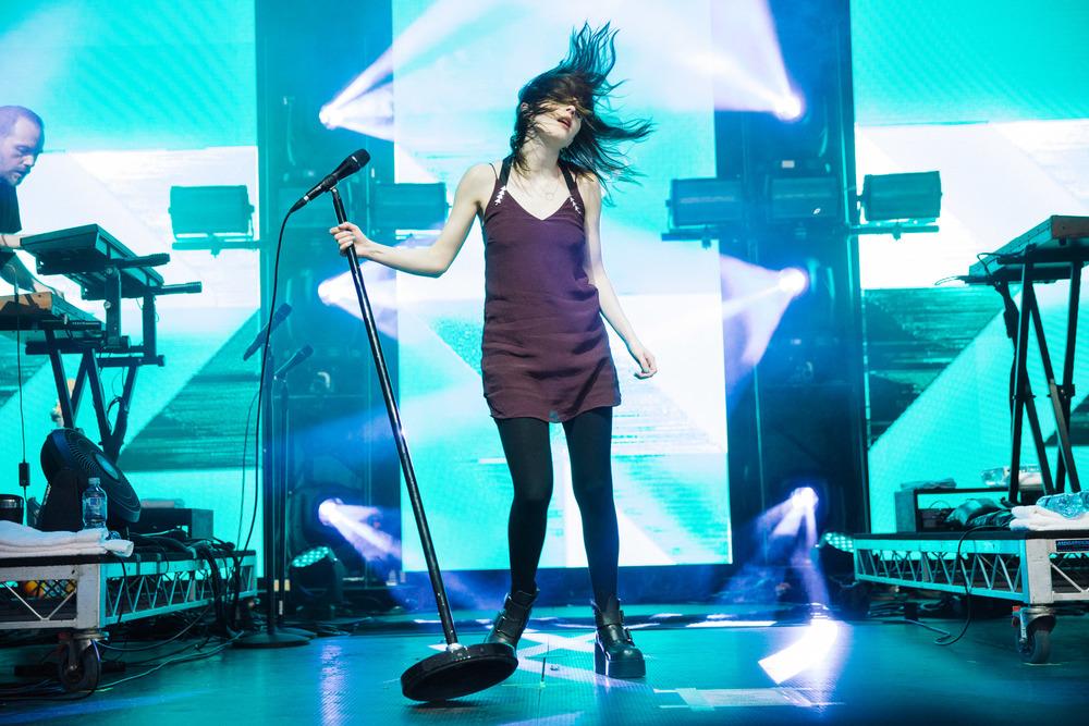 Chvrches - Laneway Festival Sydney 2016