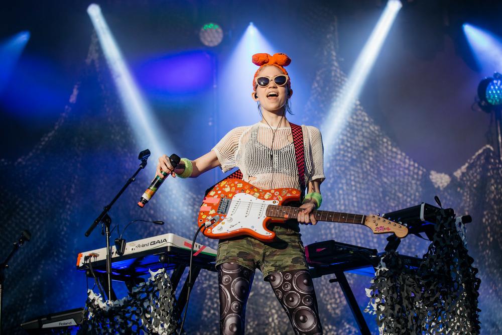 Grimes - Laneway Festival Sydney 2016