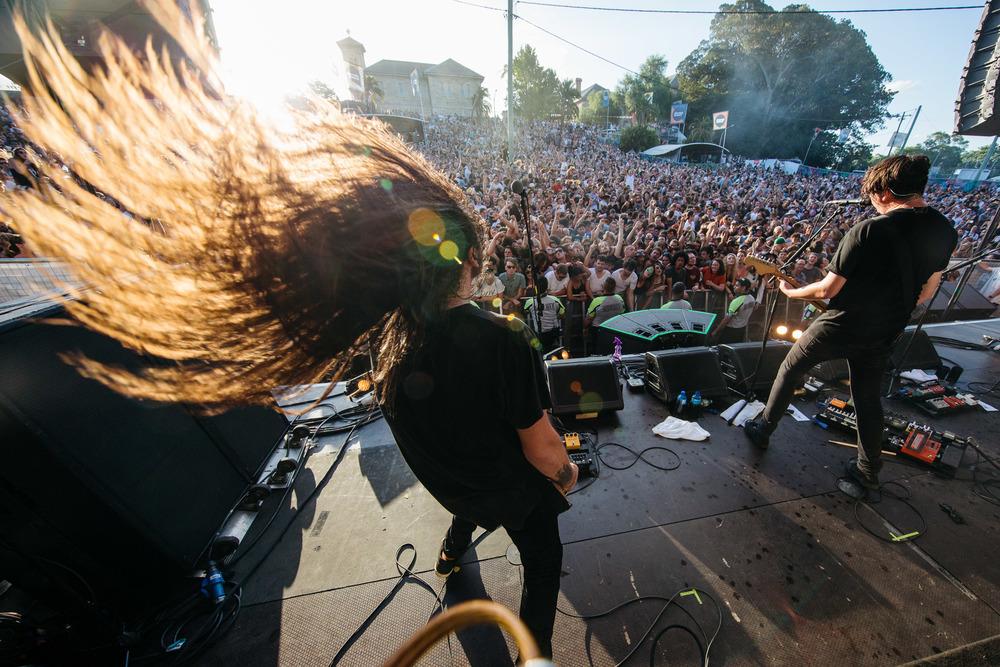 Violent Soho - Laneway Festival Sydney 2016