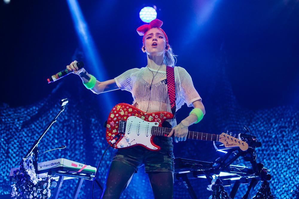 Grimes - Brisbane Laneway Festival 2016