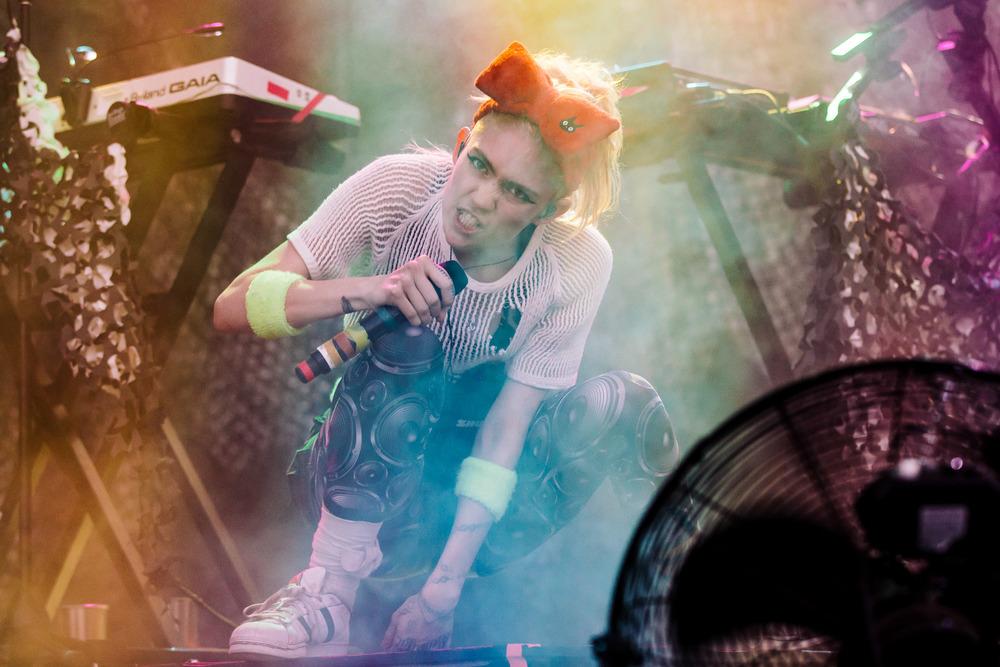 Grimes - Adelaide Laneway Festival
