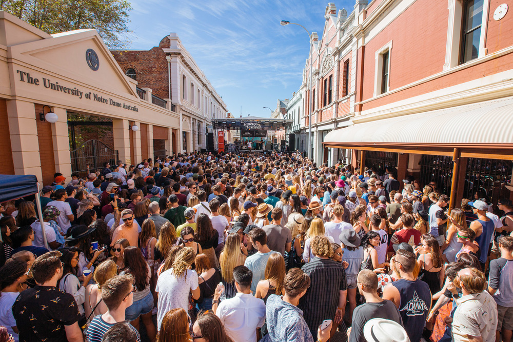 Future Classic - Red Bull Stage - Fremantle Laneway Festival 201