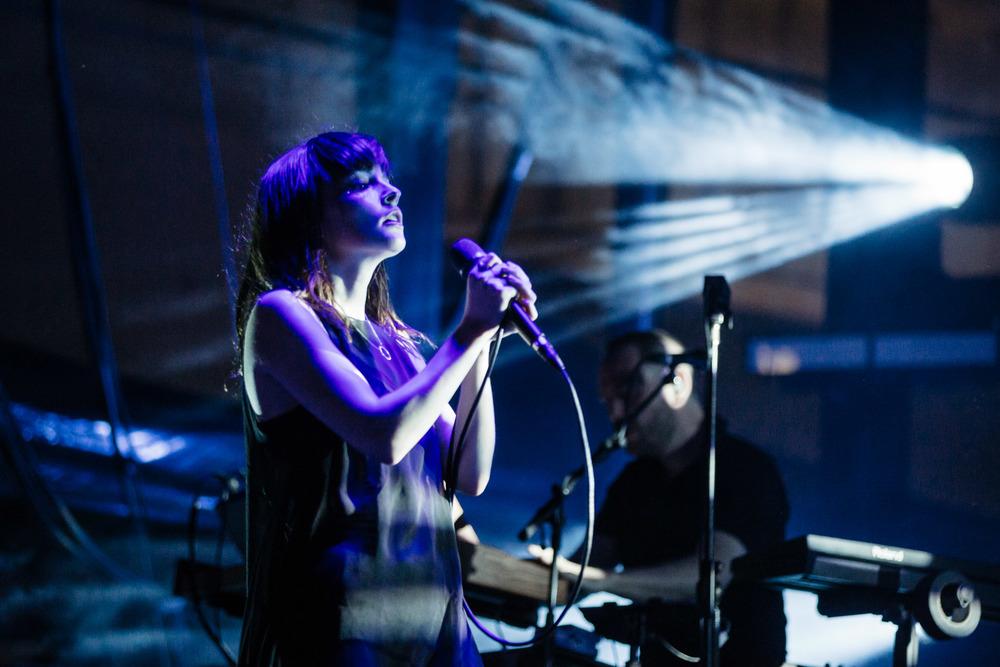 Chvrches - Melbourne Laneway Festival 2016