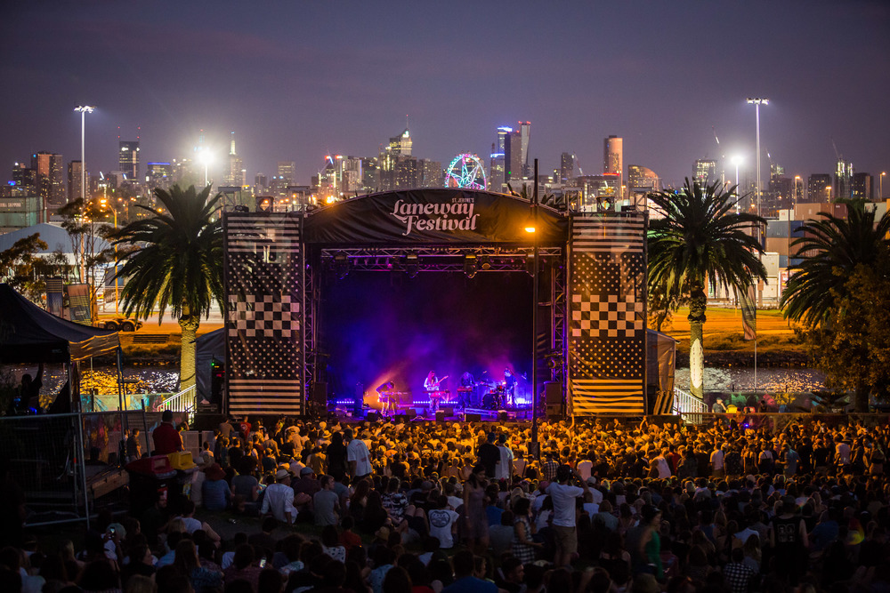 Mistletone Stage - Melbourne Laneway Festival 2016