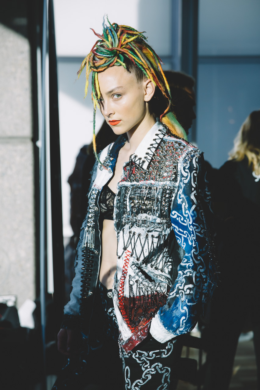 Romance Was Born MBFWA backstage 2015
