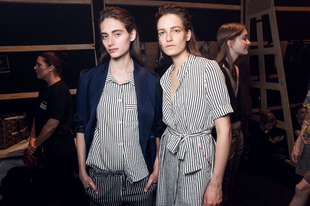 Kate Sylvester MBFWA Backstage 2015