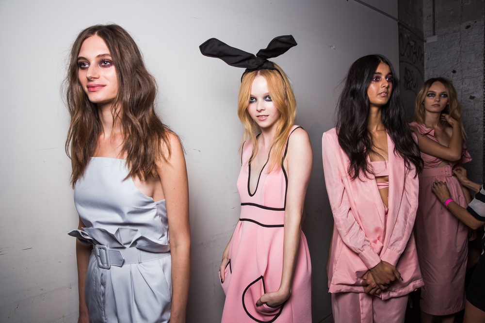 Alice McCall MBFWA 2015 Backstage