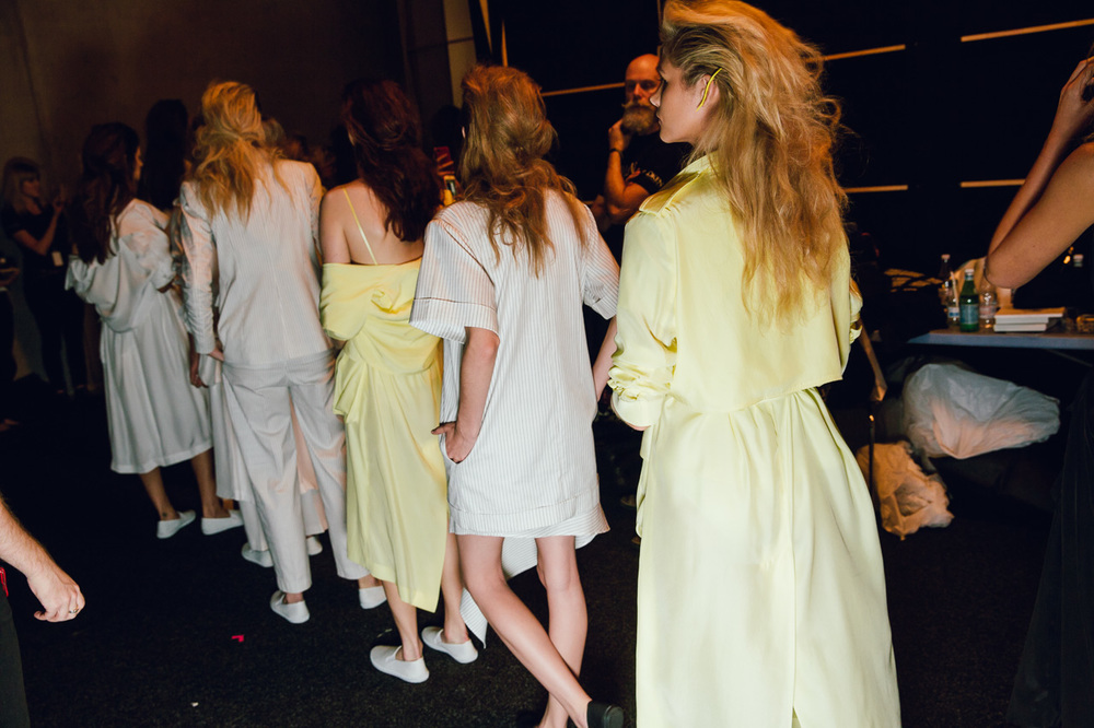 Michael Lo Sordo backstage